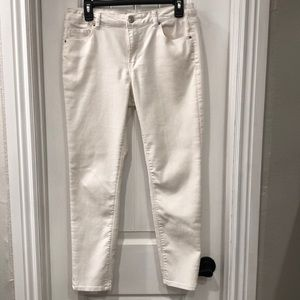 Almost Famous - White Women's Pants - Size 11